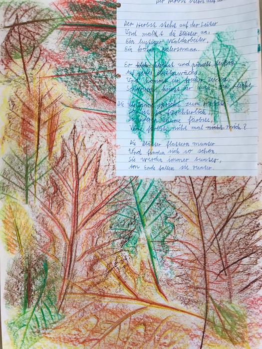 Auf leiter herbst gedicht steht der der Kakadu: Gedichte